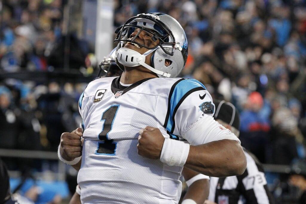 dual threat NFL quarterbacks, Cam Newton
