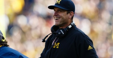Jim Harbaugh Michigan Rome trip
