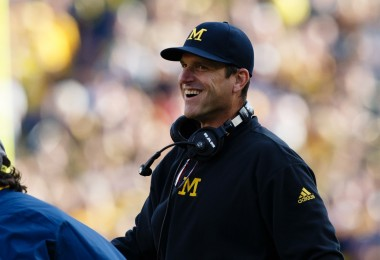 Jim Harbaugh Michigan football