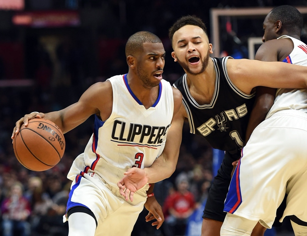 Chris Paul Clippers Spurs