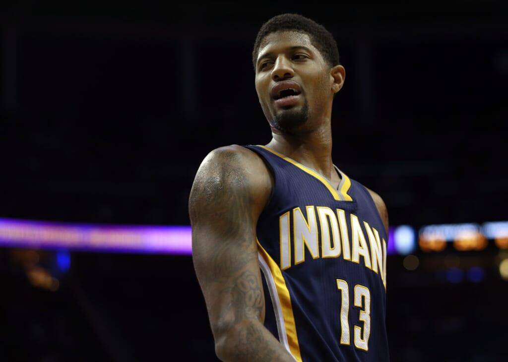 NBA draft, Paul George trade