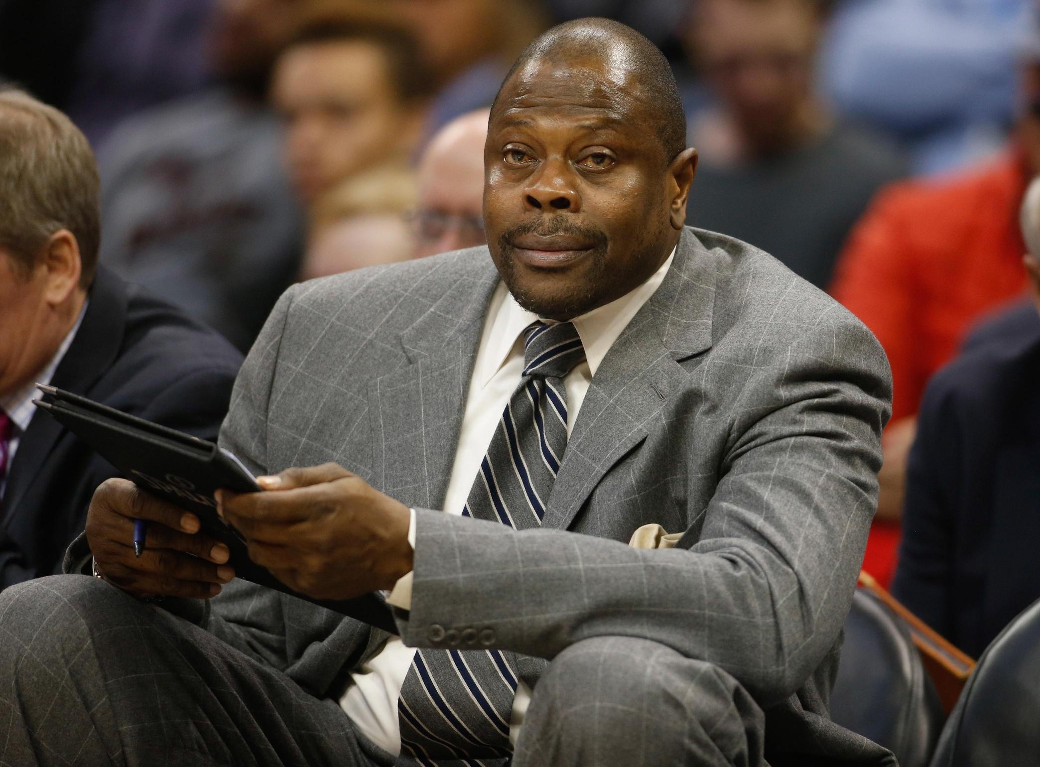 Patrick Ewing laments asking Knicks for trade