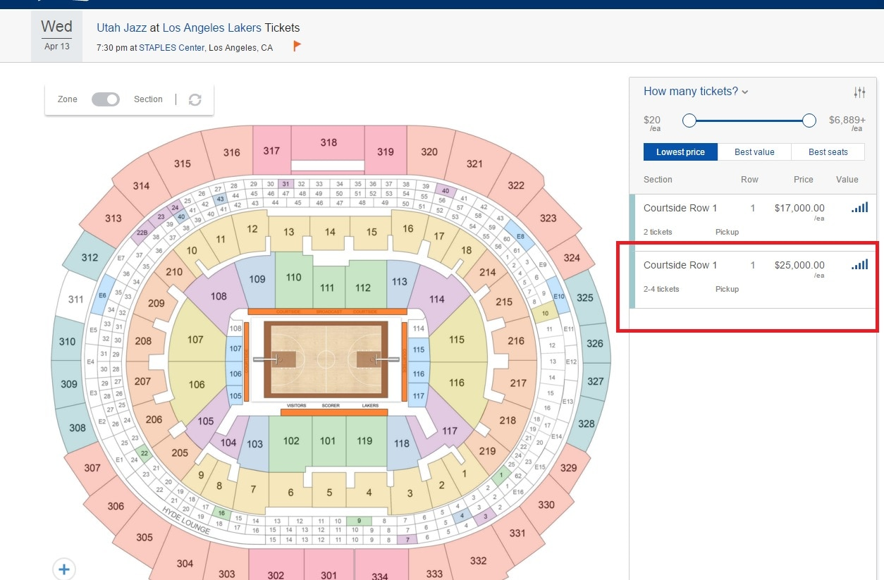 Price Of Nba Final Tickets | Basketball Scores