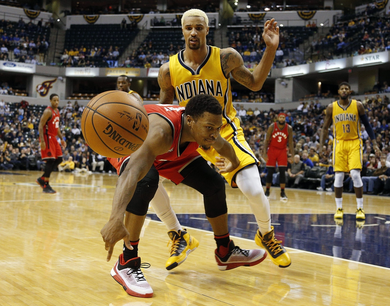 George Hill Kyle Lowry