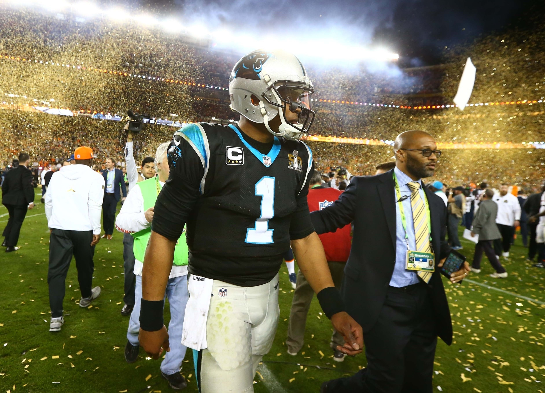 more photos d1829 06285 Thomas Davis: Cam Newton 'has matured' since Super Bowl ...