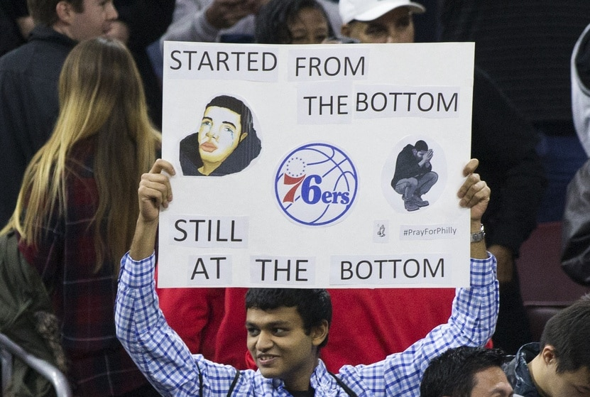 Why 26 NBA teams are useless fodder every year