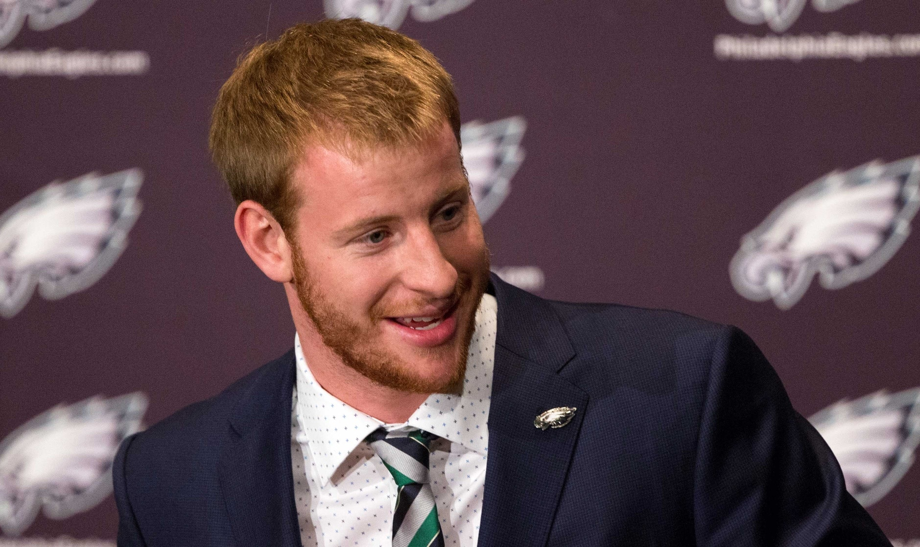 Carson Wentz Shares Adorable Pictures Of His Newborn First Child