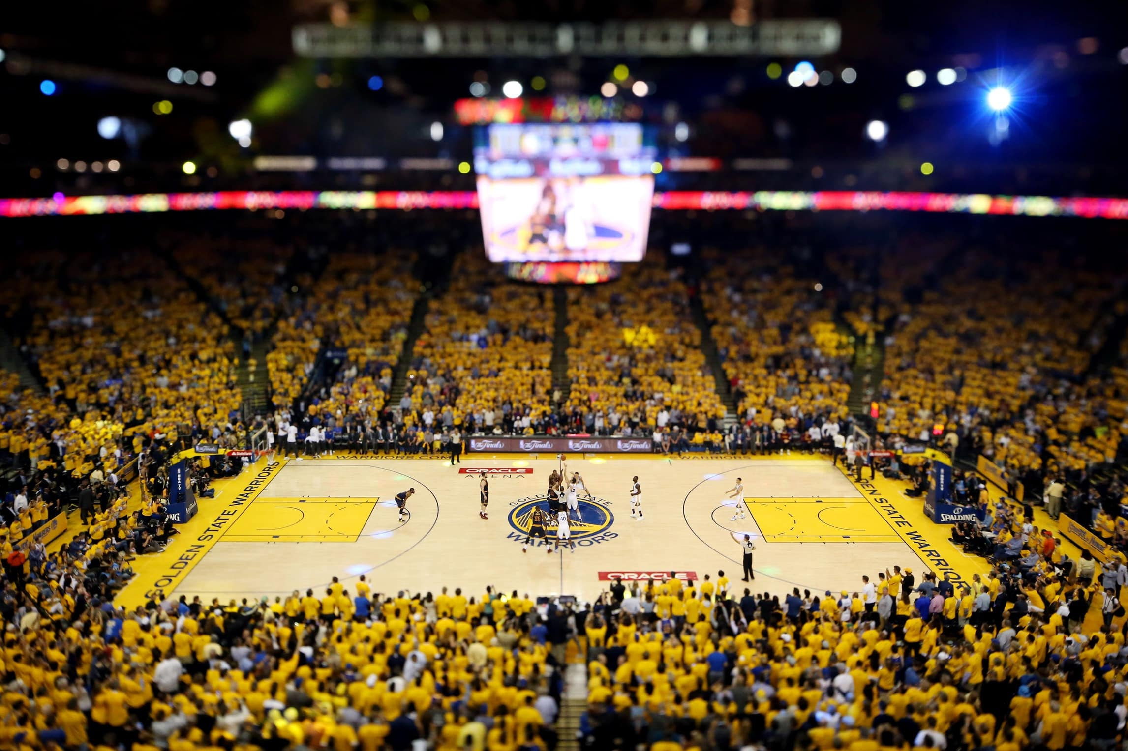 Warriors Oracle Arena