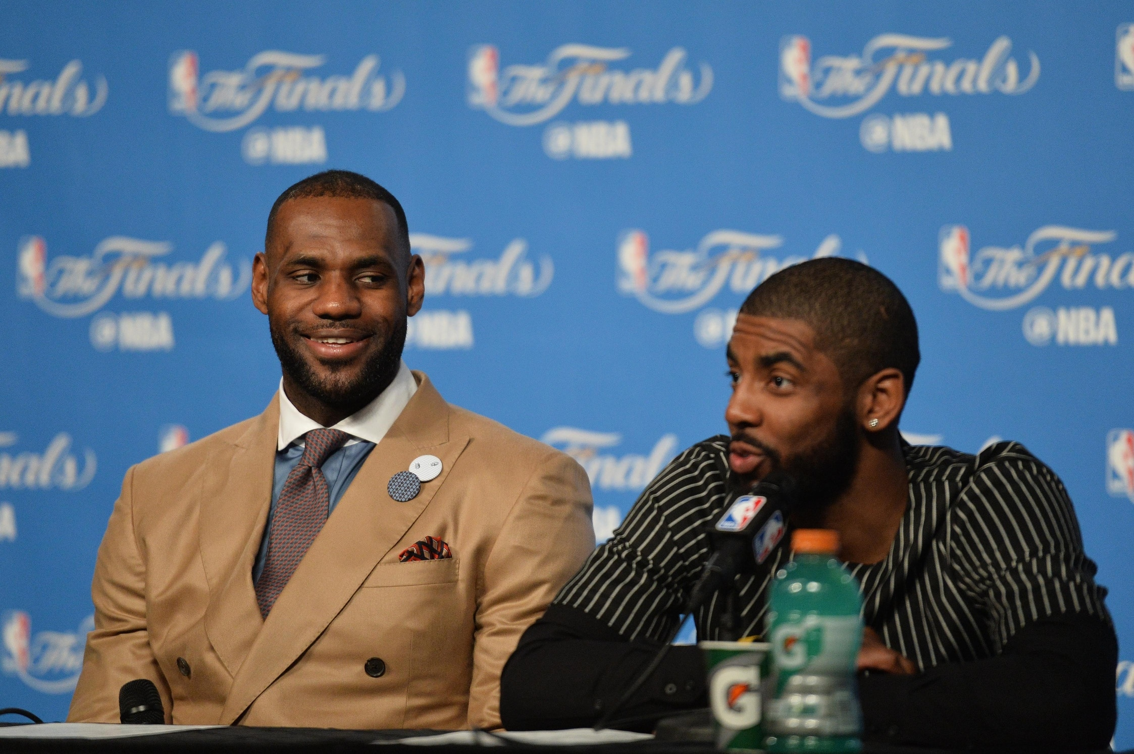 f144a9a1abd Report  Kyrie Irving  genuinely  interested in reuniting with LeBron ...