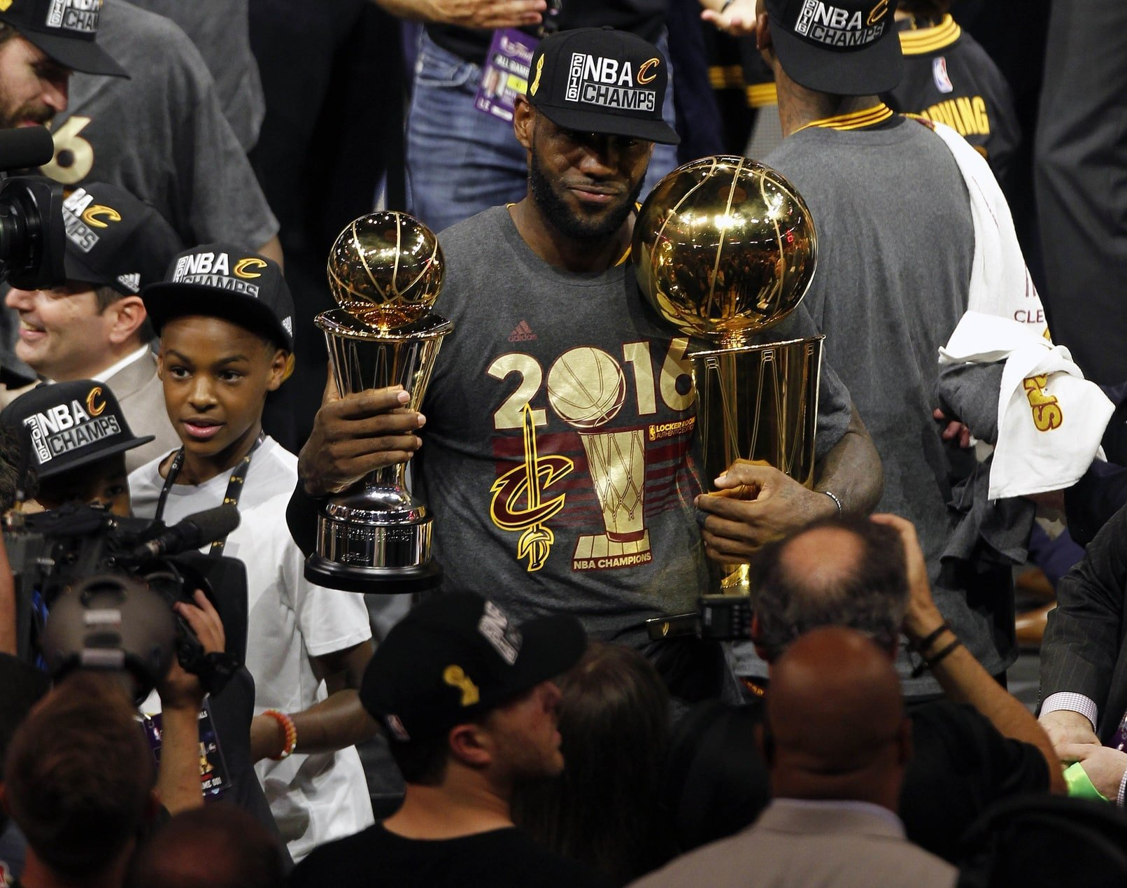 LeBron James NBA championship Cleveland Cavaliers