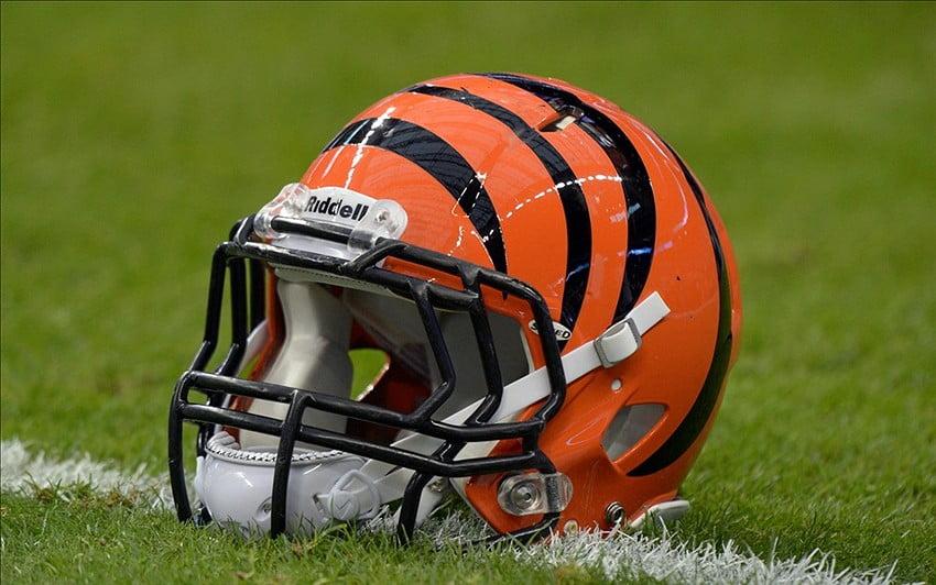 J.K. Schaffer, Bengals helmet