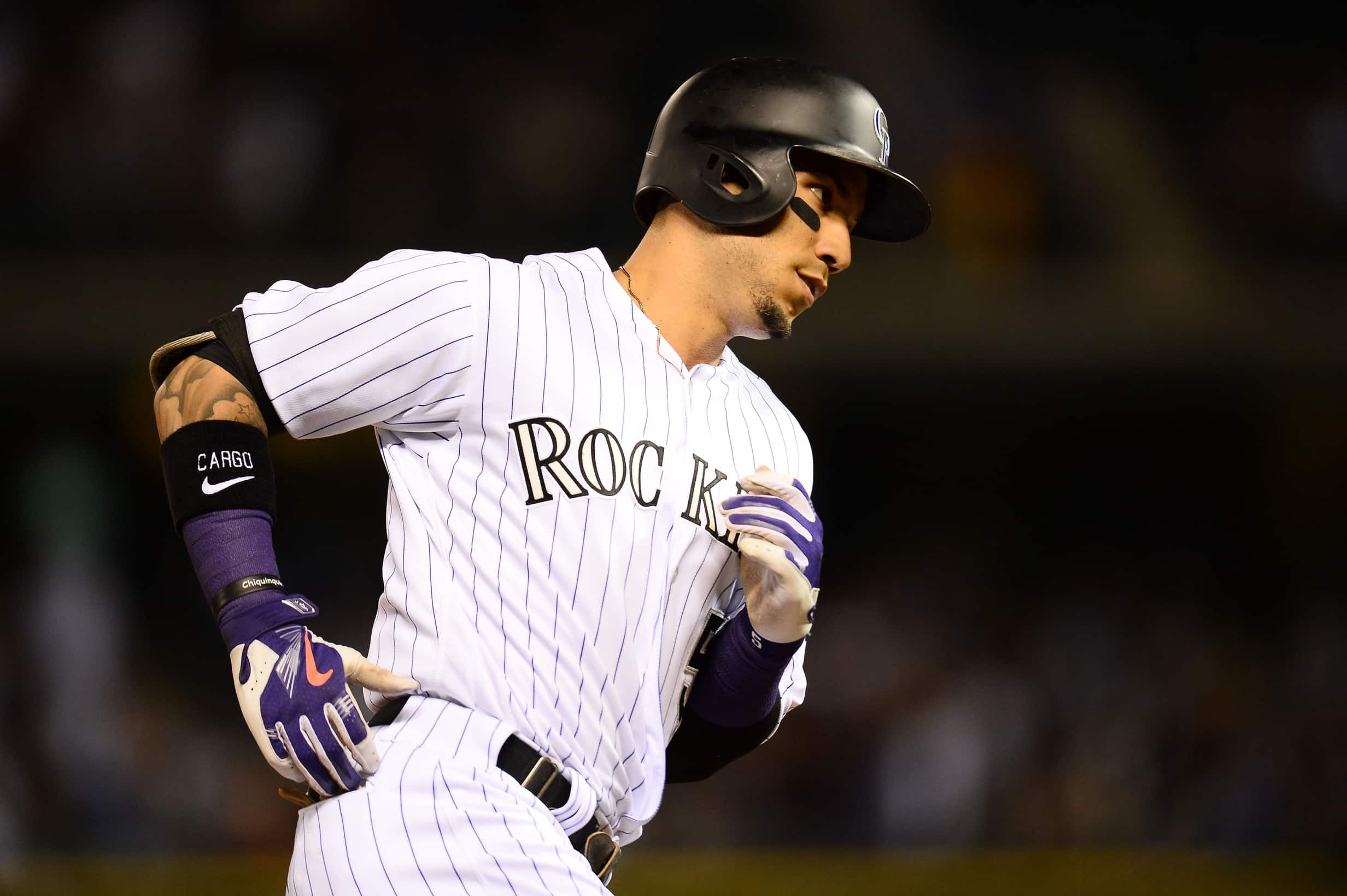 Carlos Gonzalez reportedly looking to be traded