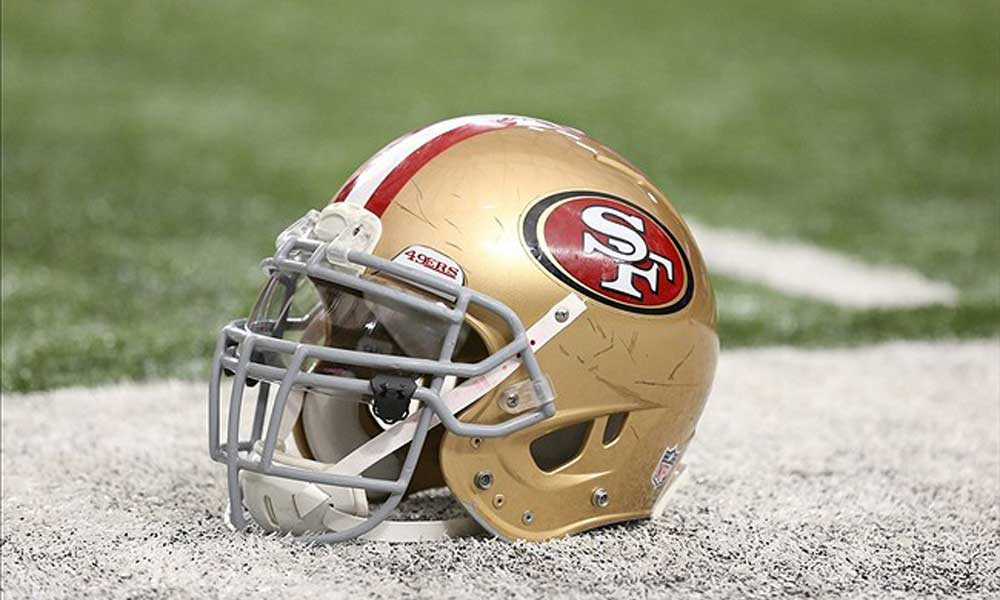 49ers rookie linebacker taken to hospital in ambulance