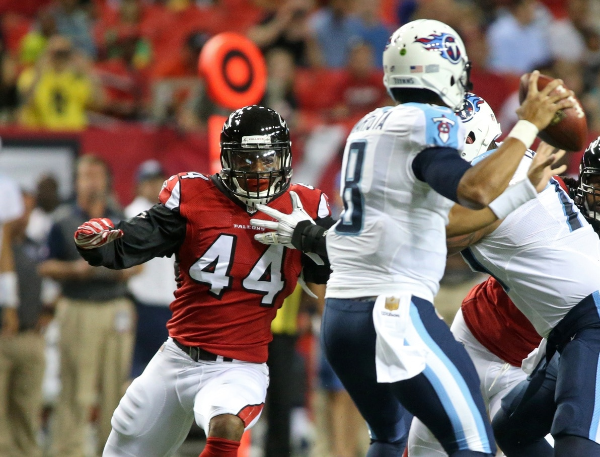 Atlanta Falcons 2016 preview, Vic Beasley