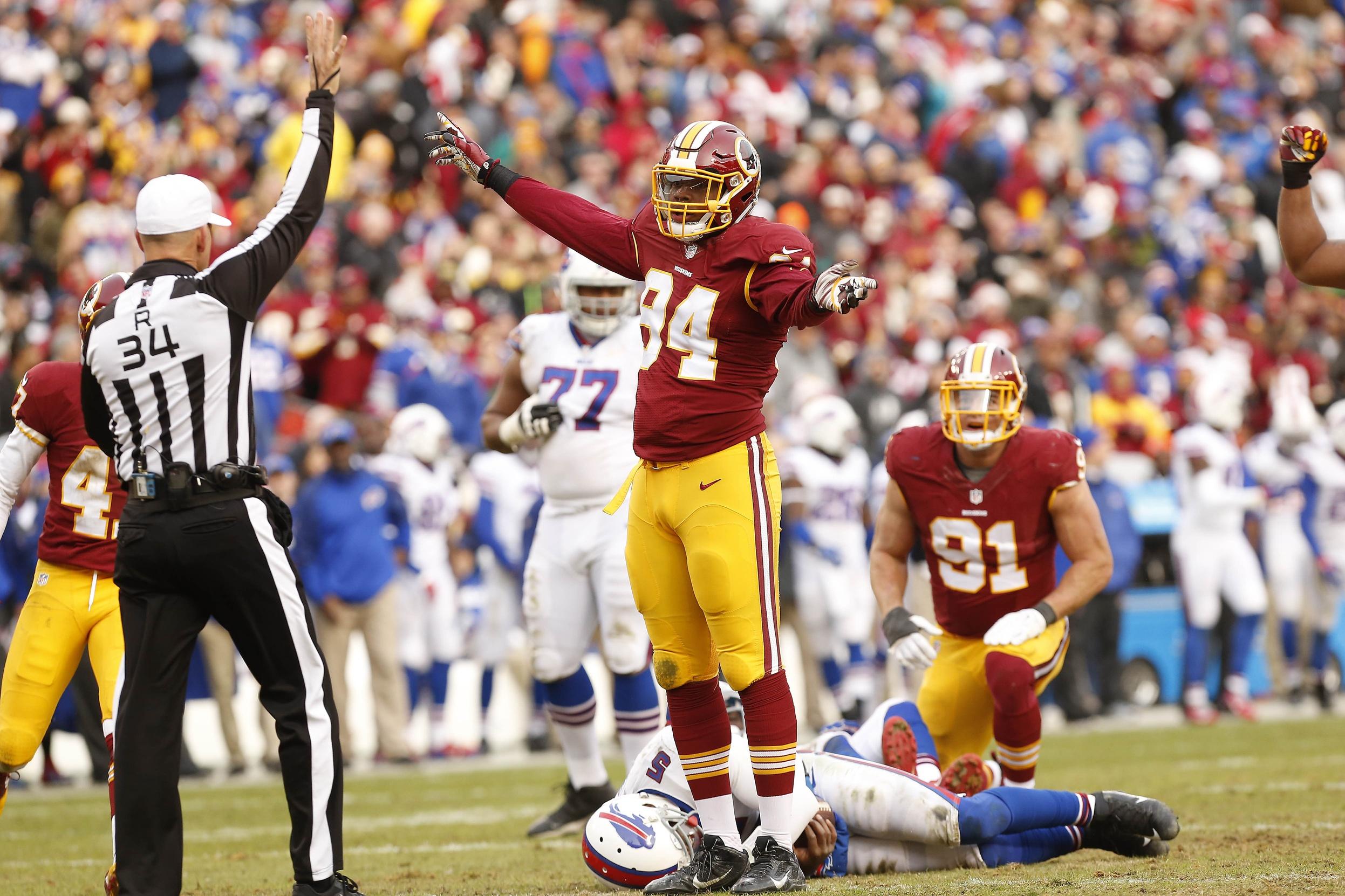 Washington Redskins 2016 preview, Preston Smith