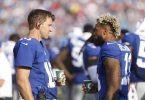 NFL preseason Week 2, Eli Manning, Odell Beckham Jr.