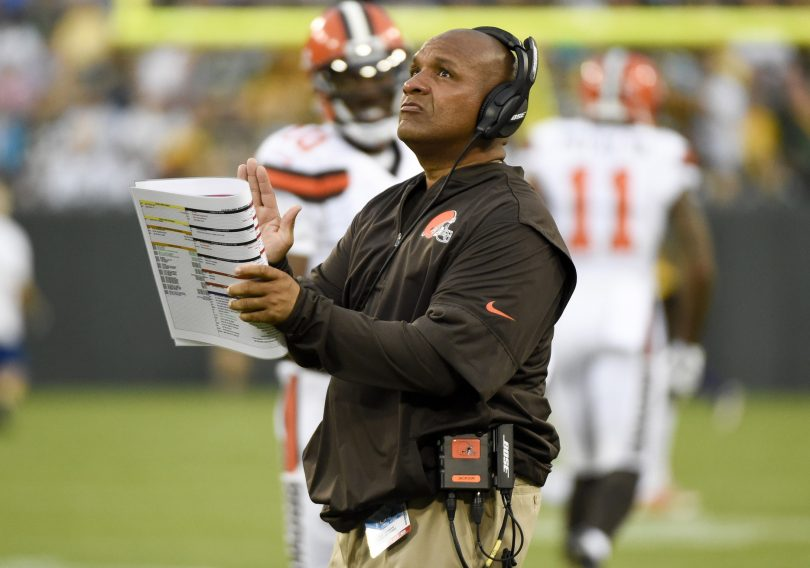 Hue Jackson Cleveland Browns NFL coaches