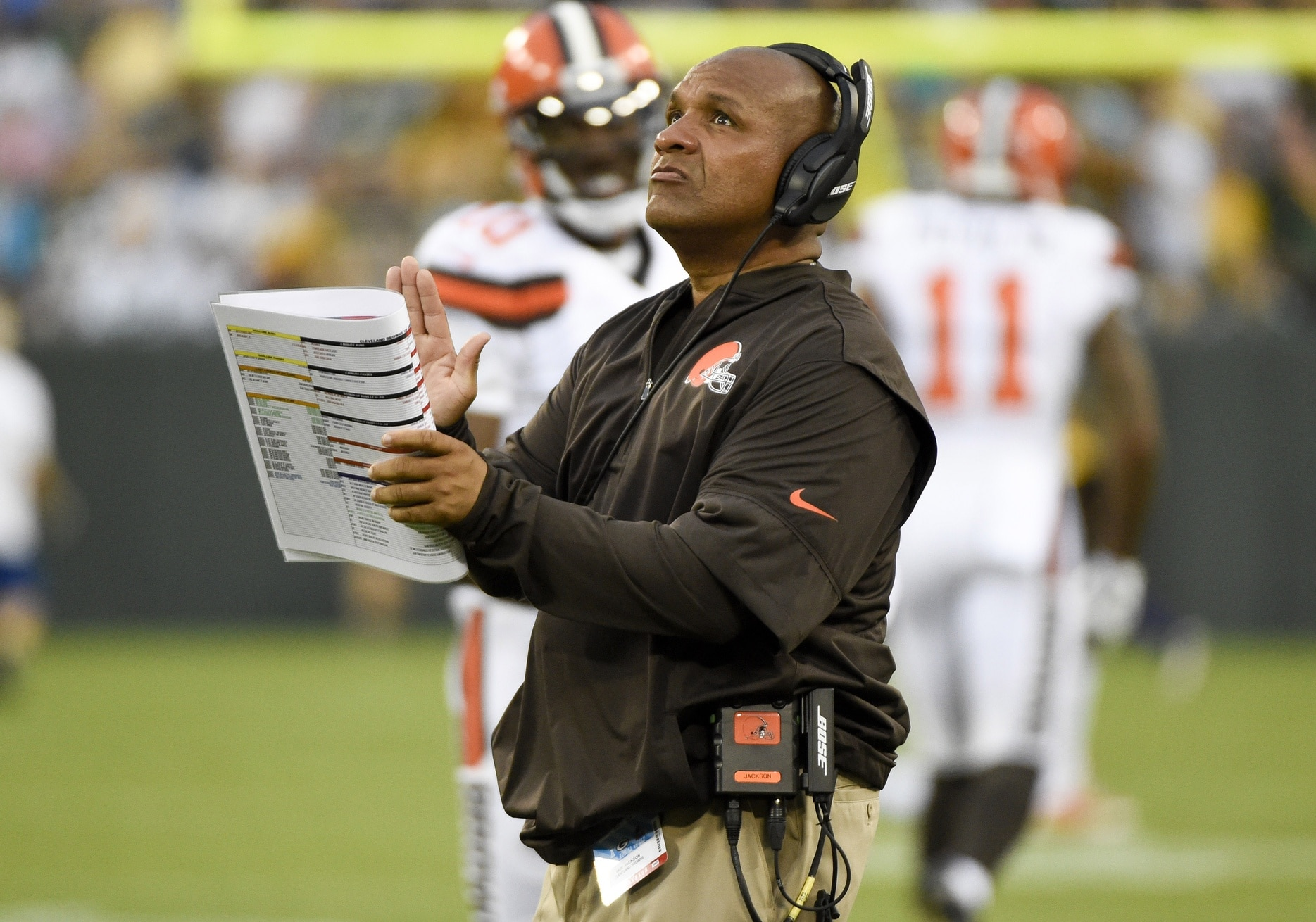 Hue Jackson Cleveland Browns NFL coaches