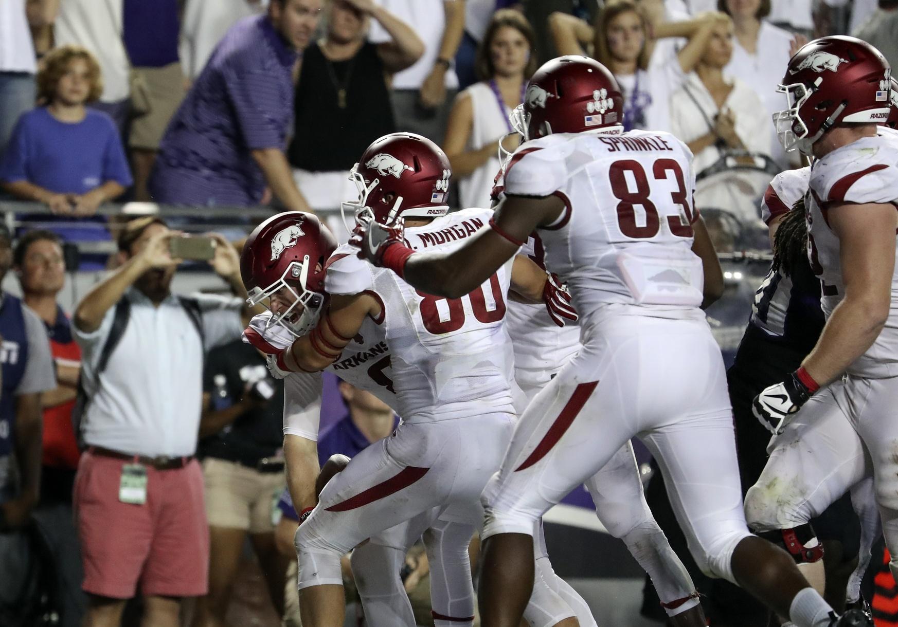 college football week 2, Austin Allen, Arkansas