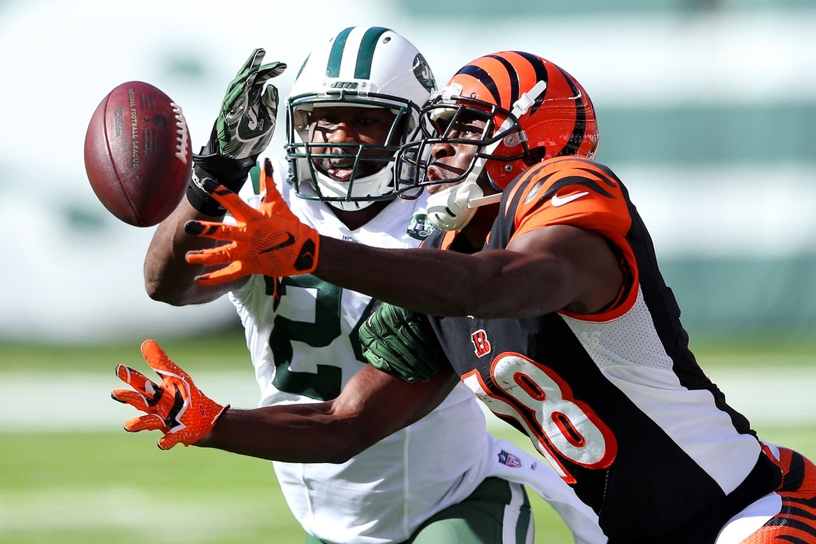 Darrelle Revis and A.J. Green