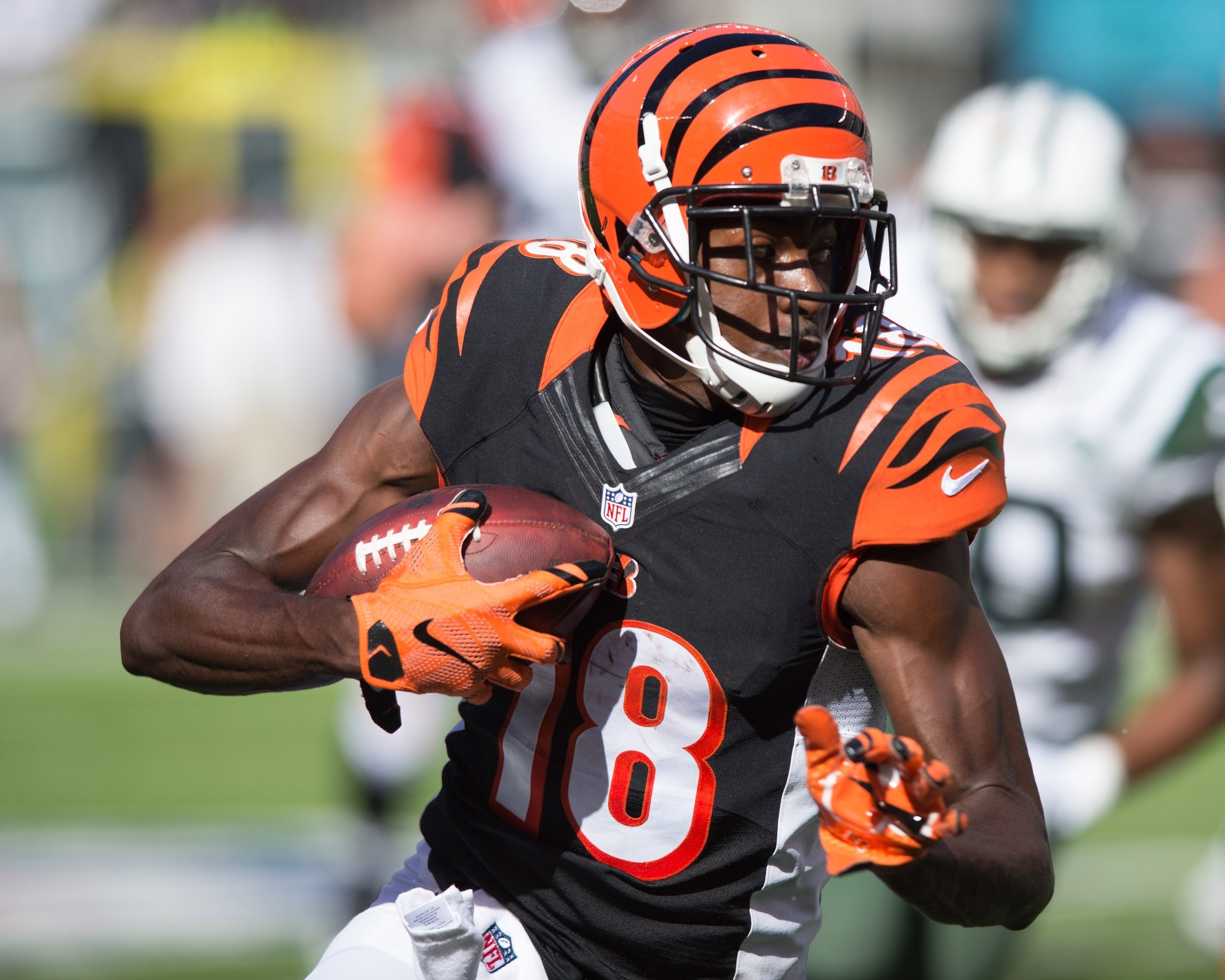 AJ Green Jalen Ramsey both ejected for fighting