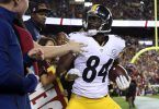 NFL celebration penalties, Antonio Brown