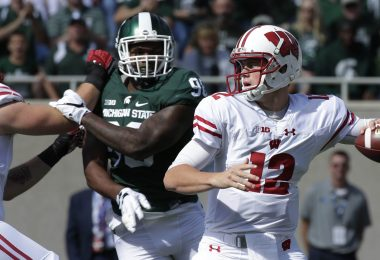 College Football Week 4, Alex Hornibrook