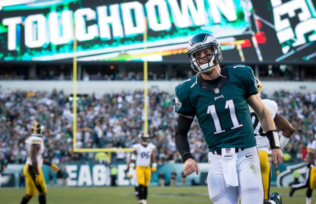 Carson Wentz leads one of the most explosive NFL offenses