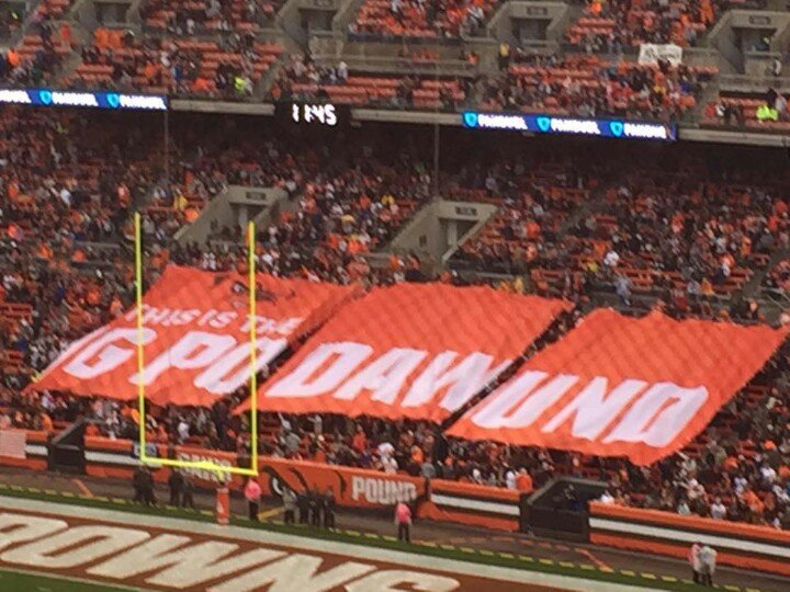 Bengals vs. Browns, dawg pound