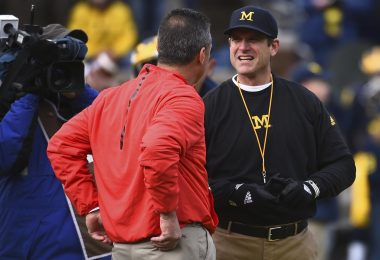 college football Week 13, Urban Meyer Jim Harbaugh