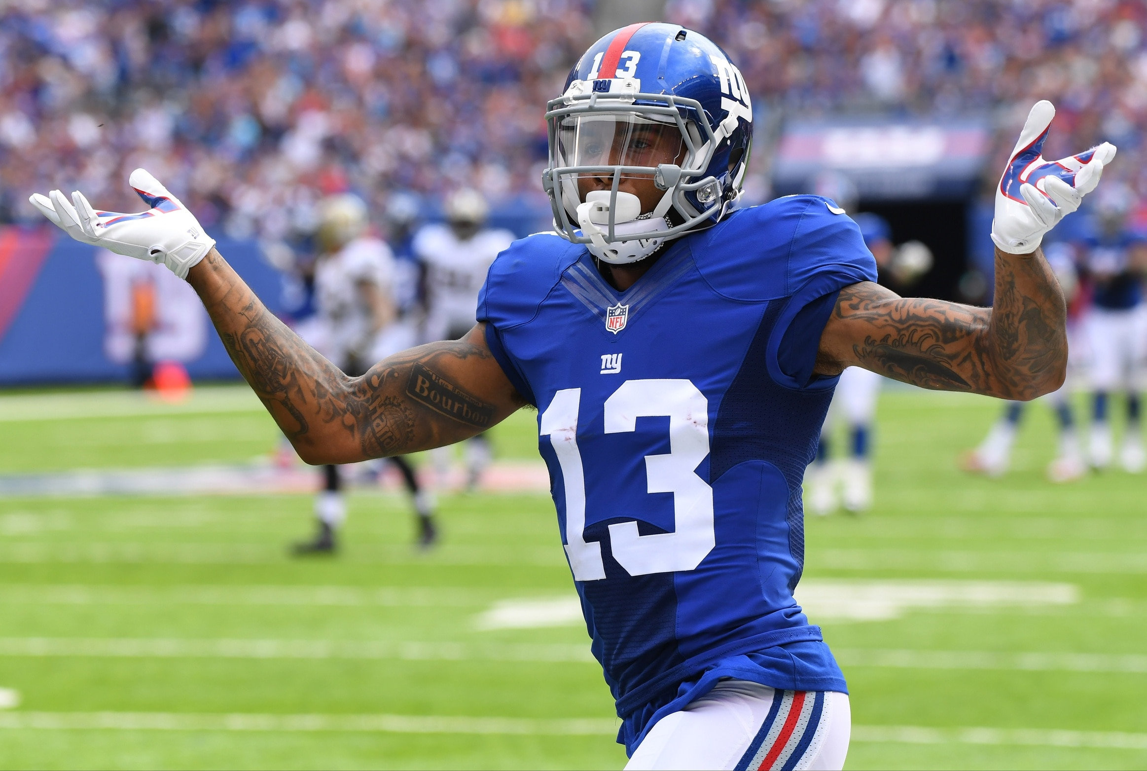 Odell Beckham Jr. fined $12,154 for unsportsmanlike ...