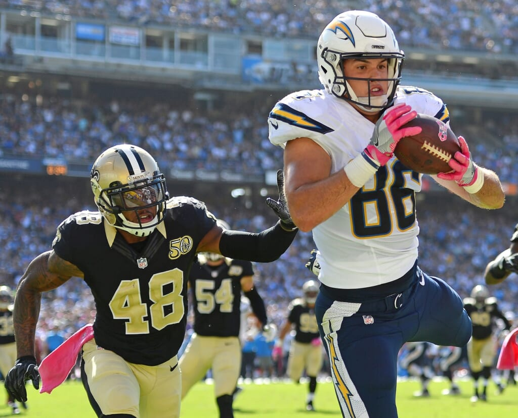 Top NFL free agents: Hunter Henry, TE, Chargers