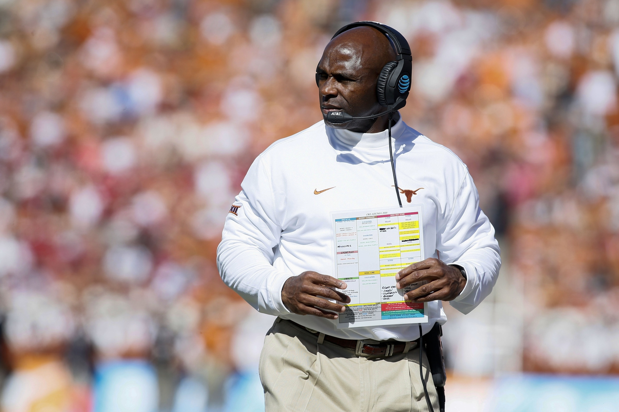 College Football Week 6, Charlie Strong