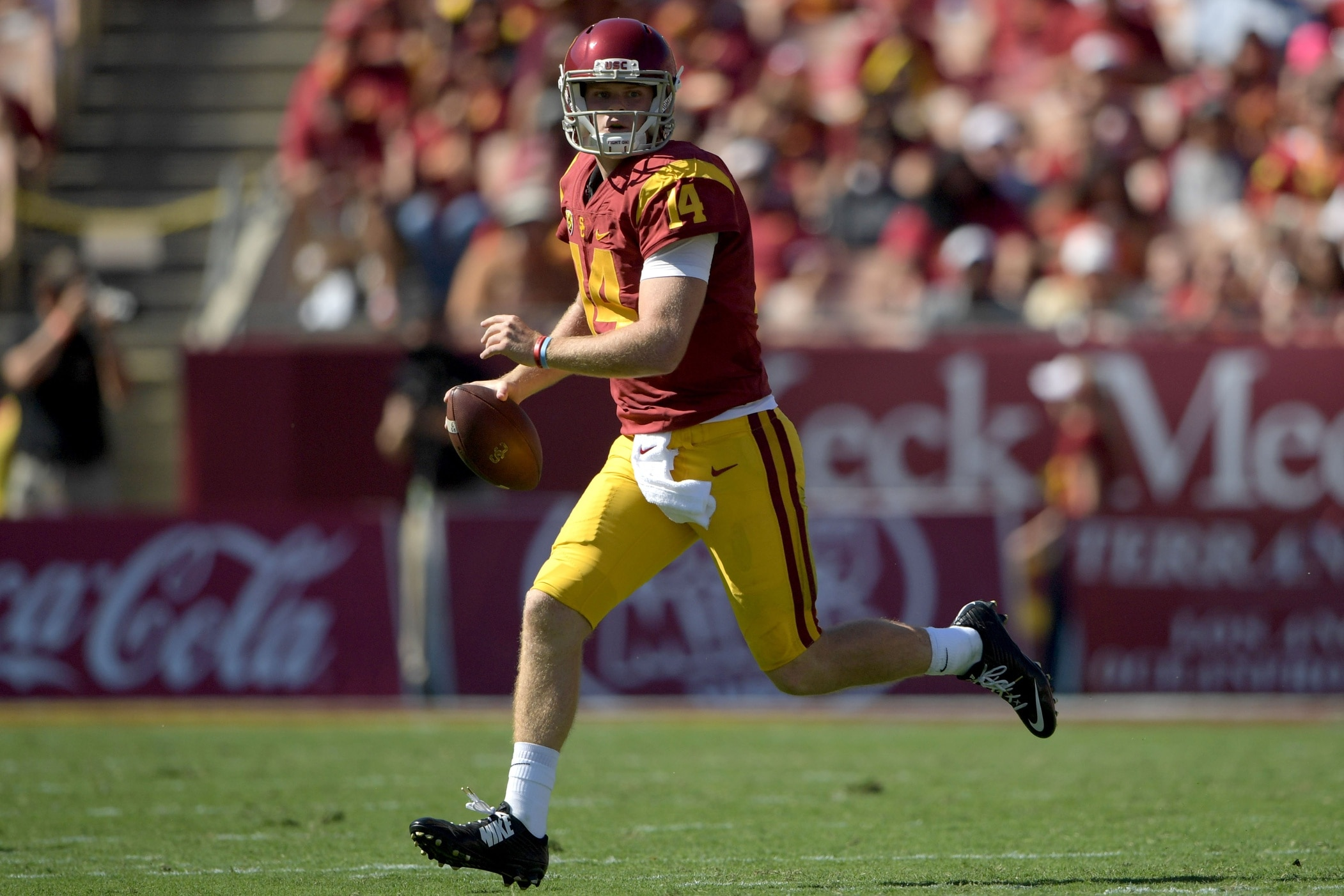 USC Trojans quarterback Sam Darnold college football