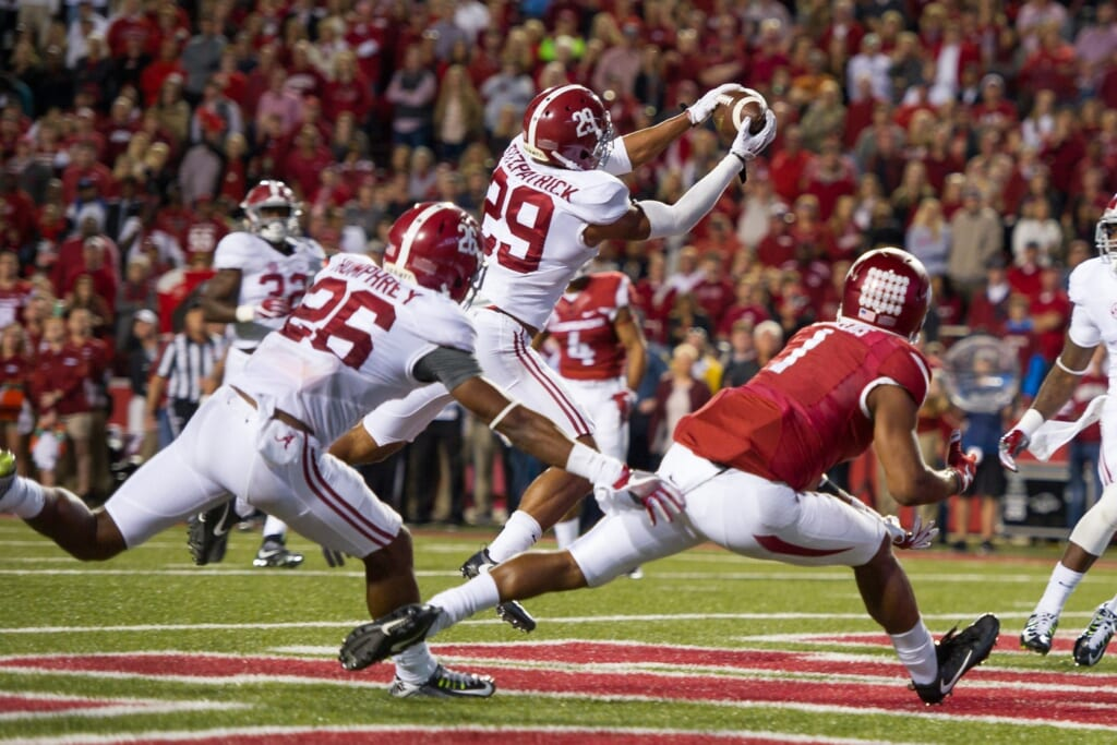 Minkah Fitzpatrick Alabama Arkansas