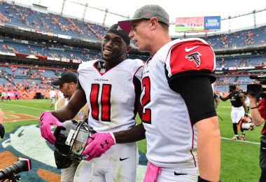 Julio Jones and Matt Ryan Atlanta Falcons