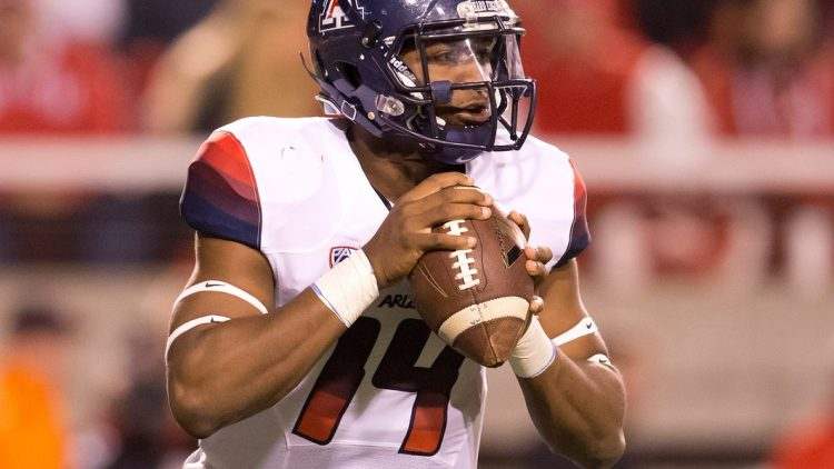 Khalil Tate is one of the players to watch in college football Week 10