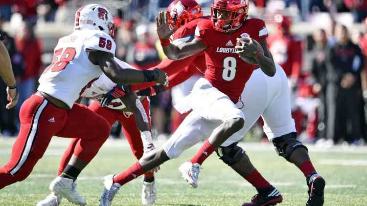 Lamar Jackson is a boom-or-bust player heading into the 2018 NFL Draft