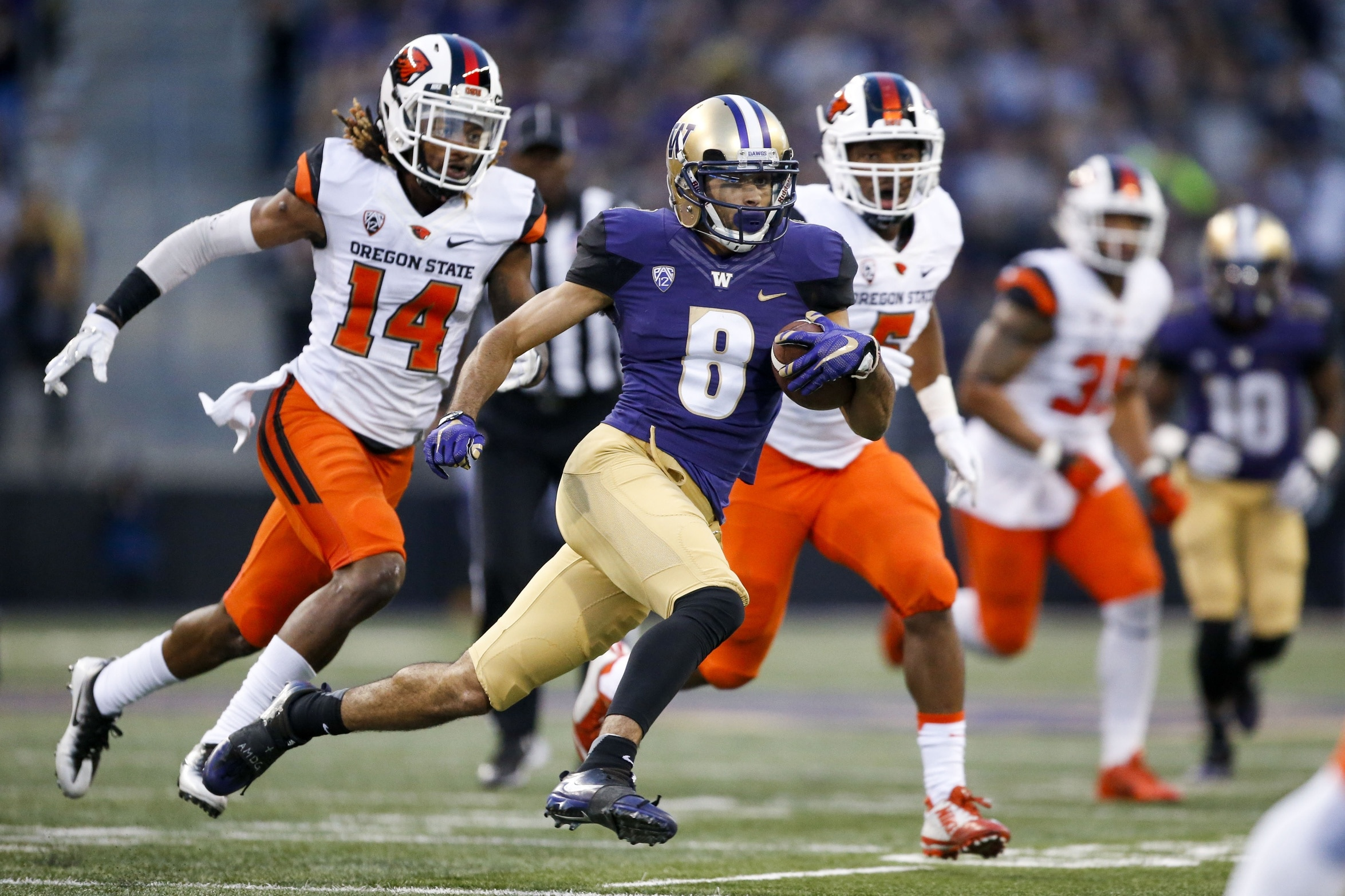 Watch Dante Pettis Returns Punt 58 Yards For Td