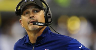 Colts head coach Chuck Pagano