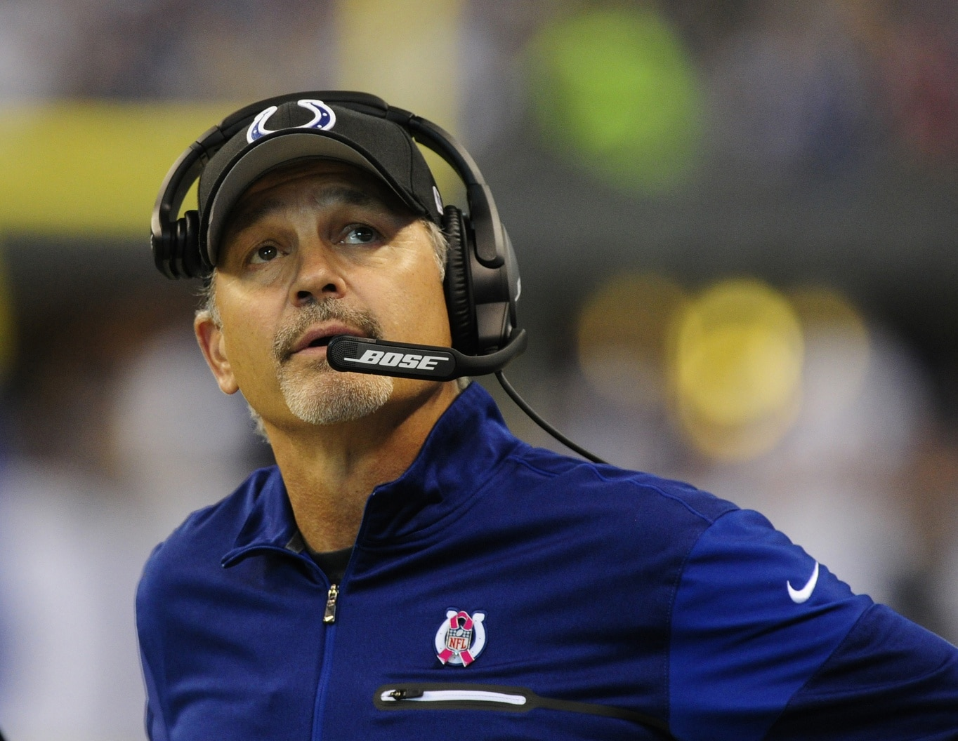 Colts head coach Chuck Pagano