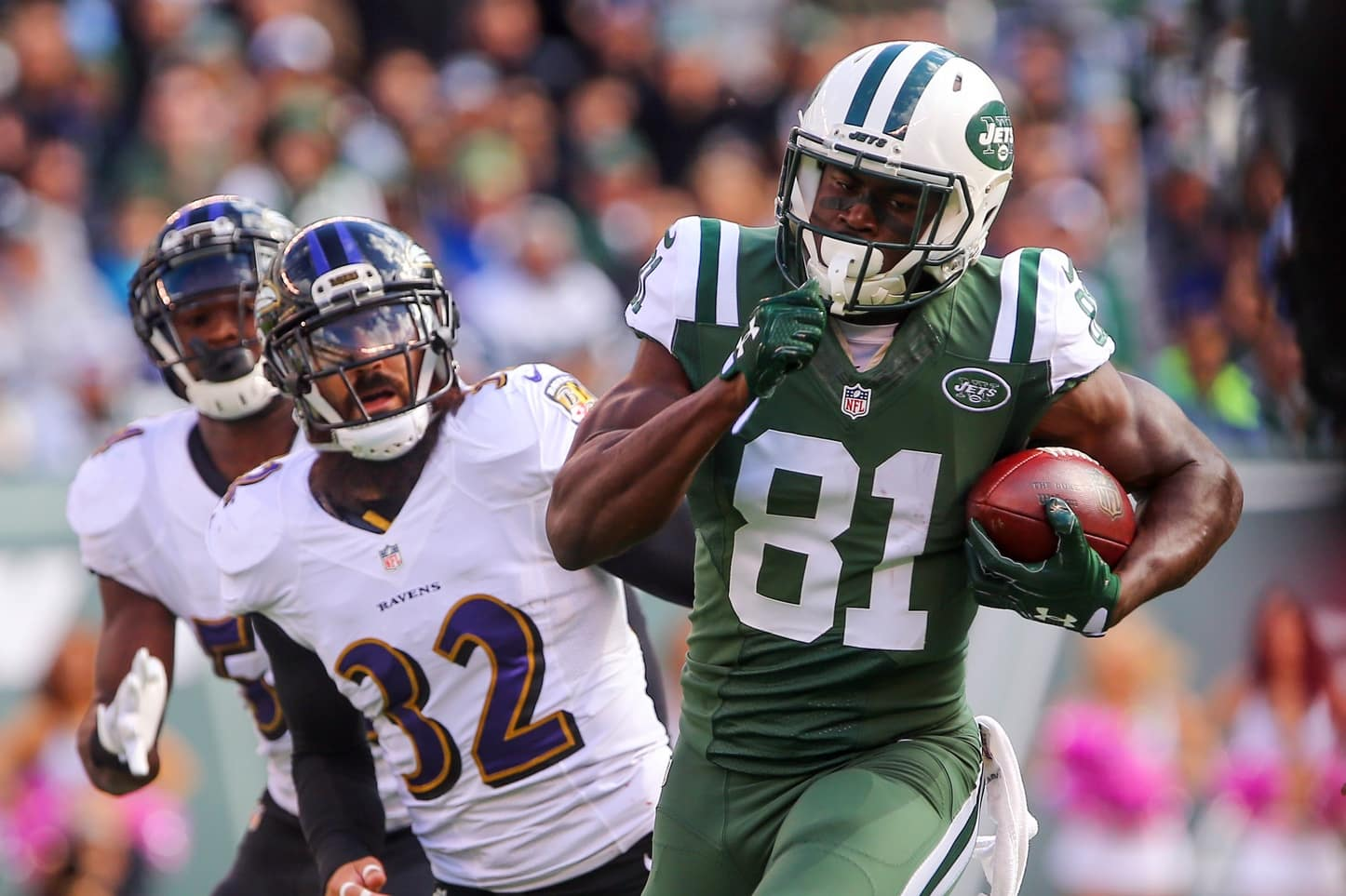 new styles 79930 60597 Report: Jets lose WR Quincy Enunwa for season with neck injury