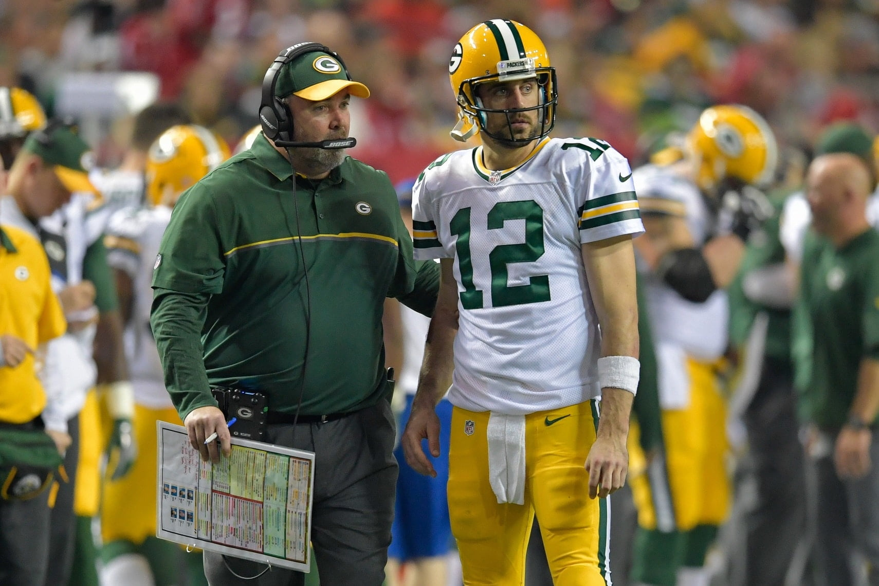 Packers offense, Mike McCarthy, Aaron Rodgers