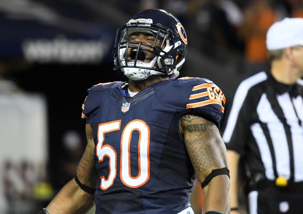 Bears linebacker Jerrell Freeman