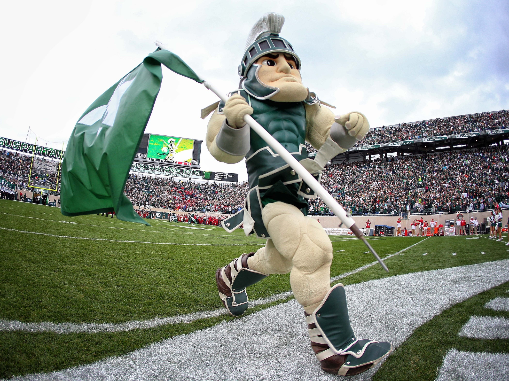 Sparty, Michigan State Spartans