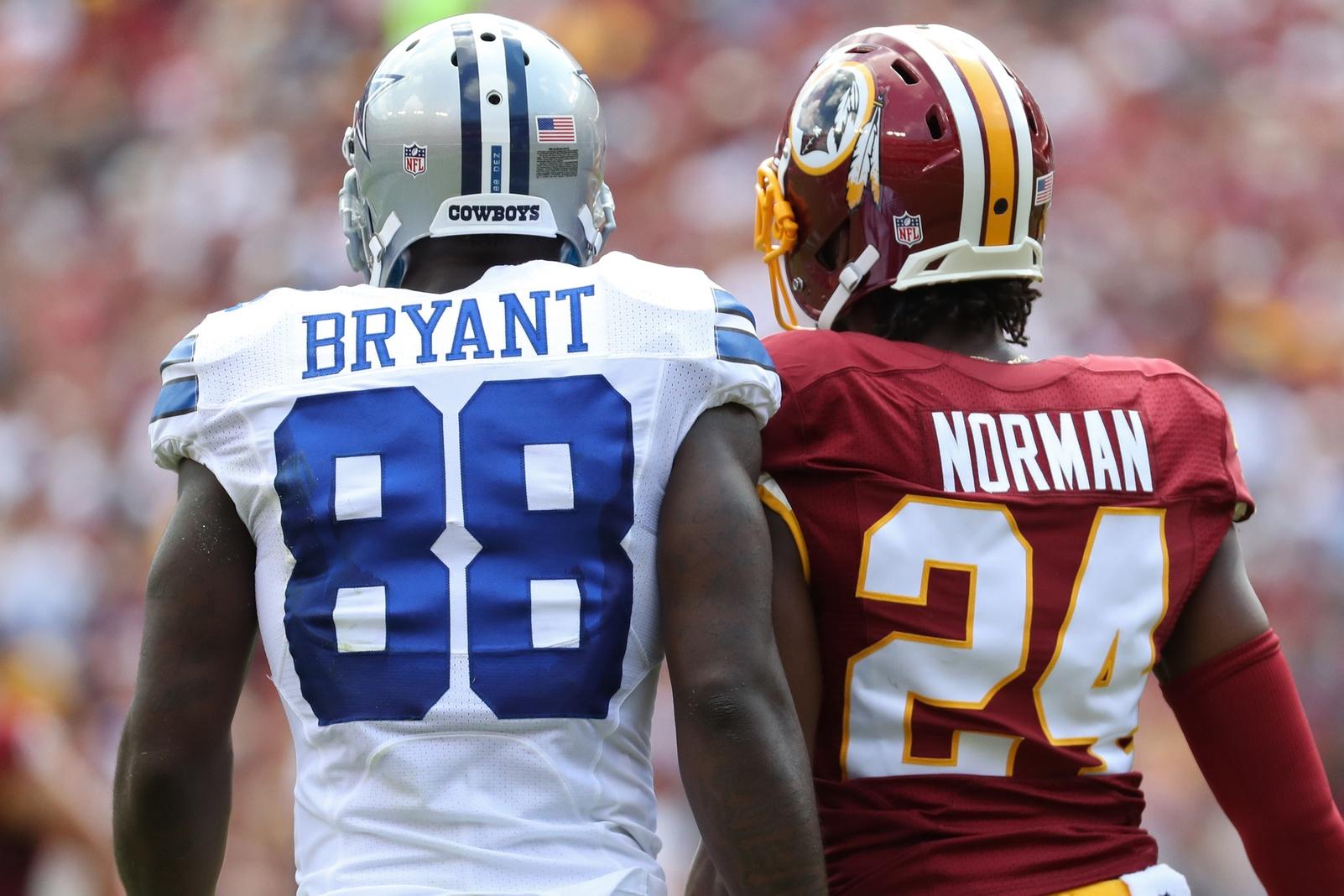 Dez Bryant Josh Norman Washington Redskins Dallas Cowboys