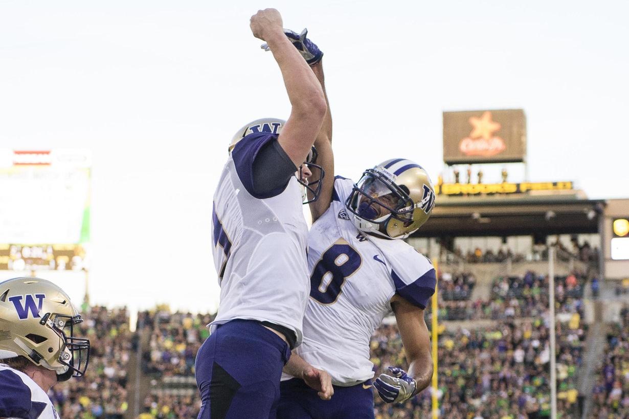College football Week 13, Jake Browning