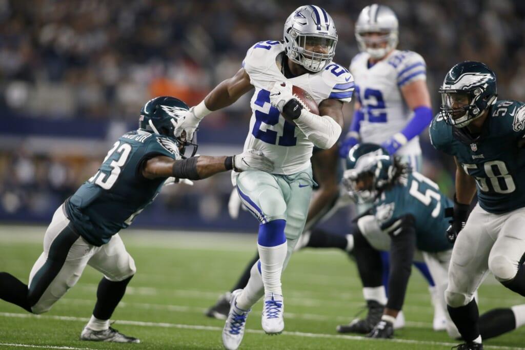 Ezekiel Elliott Dallas Cowboys Philadelphia Eagles