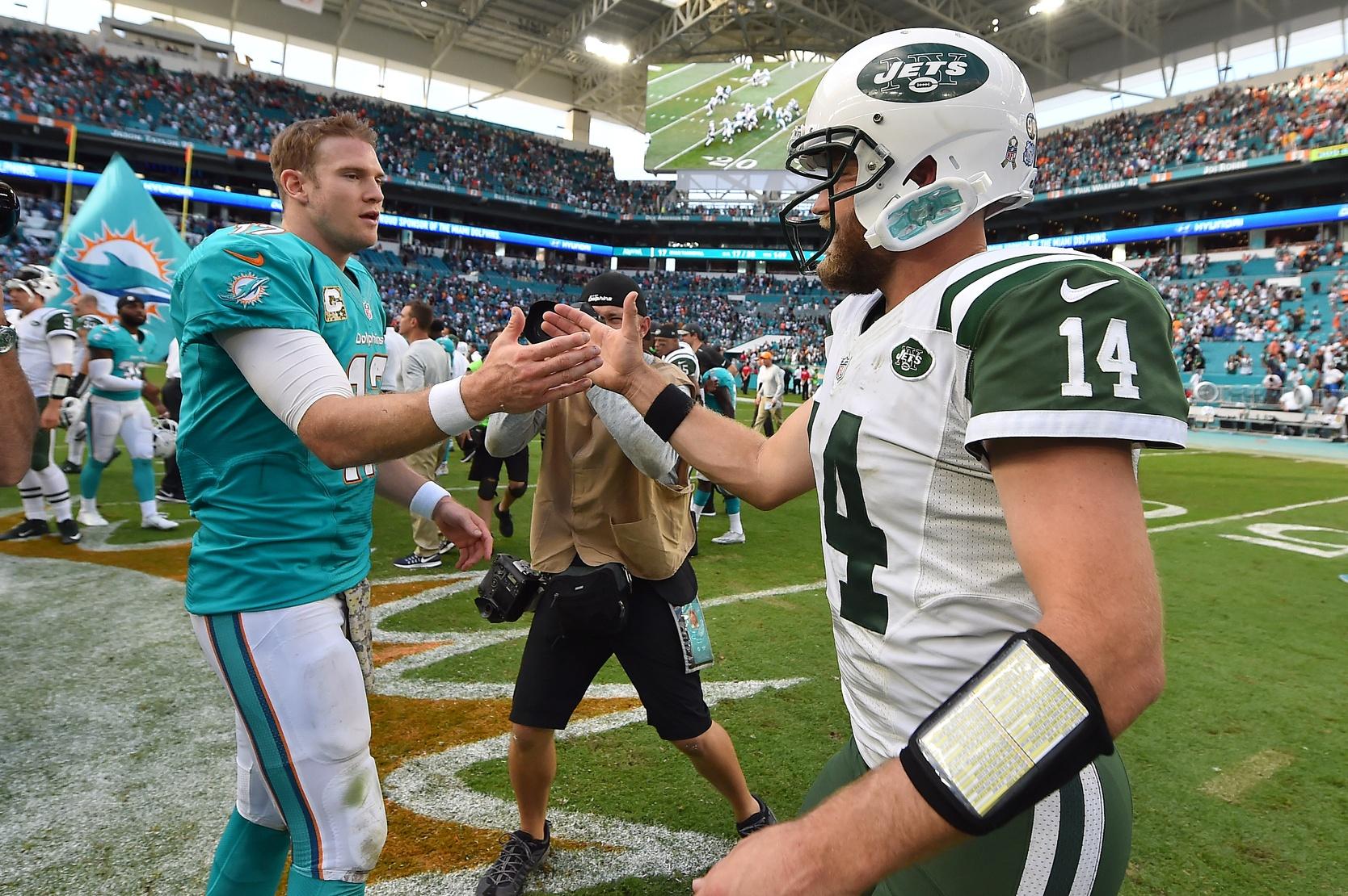 NFL Week 9, Ryan Fitzpatrick, Ryan Tannehill
