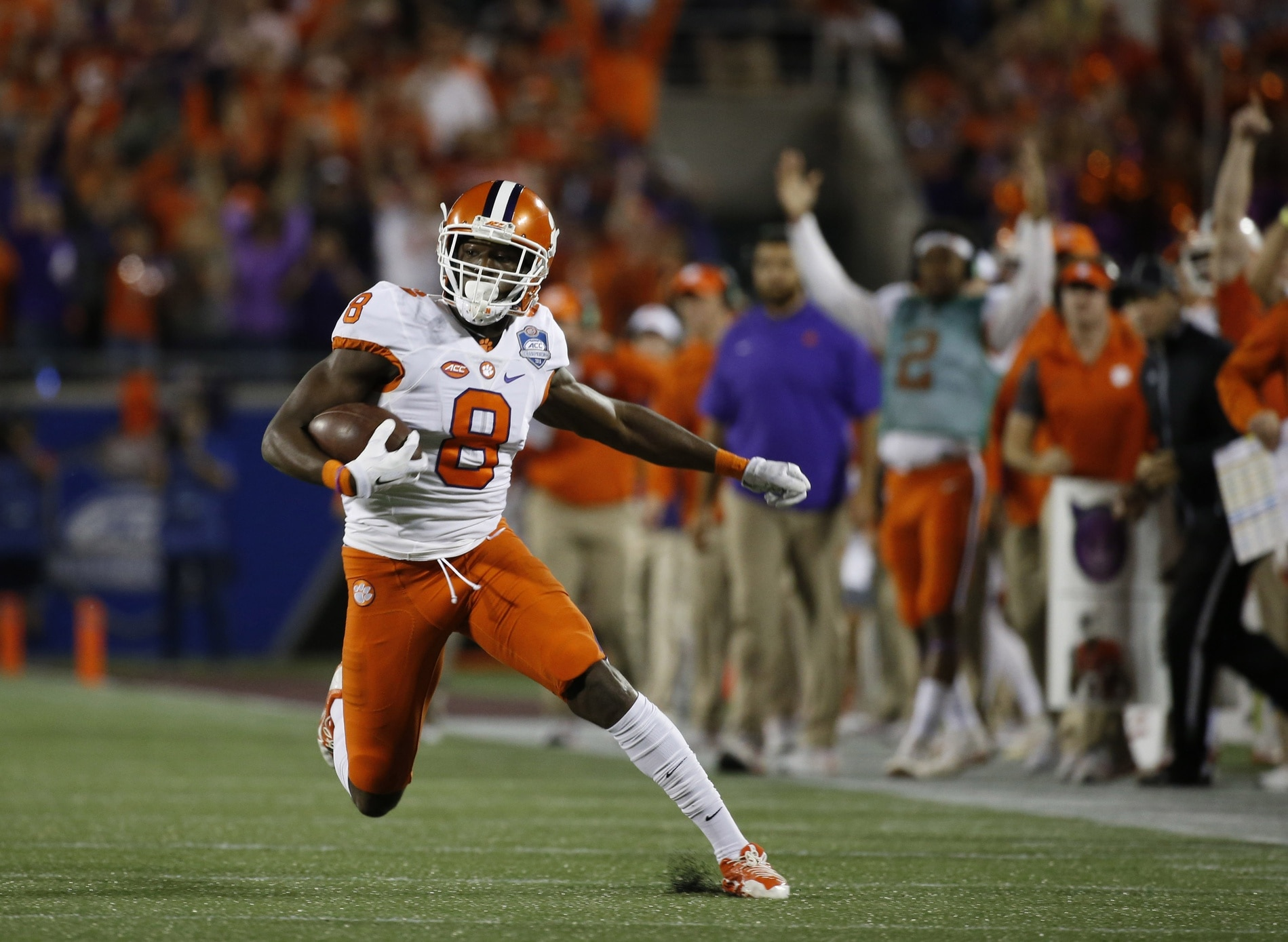 Clemson receiver Deon Cain is one of the best receivers in college football